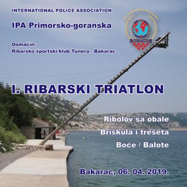"""I. RIBARSKI TRIATLON """"TUNERA 2019"""""""